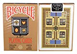 Bicycle 8-Bit Playing Cards, Gold