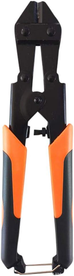 Koojawind Coupeurs De Boulon R/éSistants Mini Barre De Coupeur De Boulon Pinces De Barre DAcier Outils /à Main Pinces De Coupe-Fil Avec Poign/éEs Caoutchout/éEs Anti-D/éRapantes