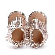 Voberry Summer Baby Boy Girls bling bling Moccasins Tassel Soft Soled Anti-slip Sneakers (0~6 Month, Gold)