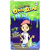 Ultimate Diy Slime Supplies Making Games Stuff Kit For Girls Boys Kids[1 Pack 1 Colors]Fluffy Glitter Ingredients Squishy Factory Homemade Mystery Jelly Goo Candy Rainbow Unicorn Chocolate Slime