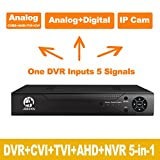 Cheap JOOAN 4CHannel 1080N 5 in 1(Compatible TVI,CVI,AHD,CBVS,IPC) CCTV DVR, H.264 NO HDD Security Surveillance Video Record (Full 960H, 1080P HD-Output/VGA/BNC Output, Smartphone& PC Easy Remote Access)