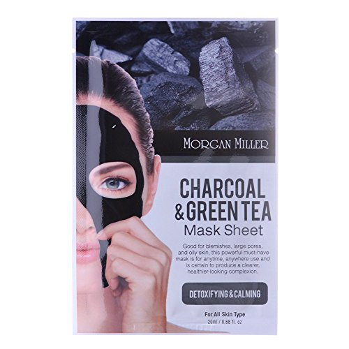 Price comparison product image Morgan Miller Charcoal & Green Tea Mask Sheet,  1 ct