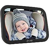 Baby Spiegel fürs Auto - Autospiegel fürs Baby, großer Rücksitzspiegel, splitterfrei
