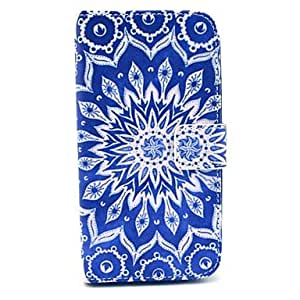 GOG-Retro Sunflower Design PU Leather Full Body Case with Stand for Samsung Galaxy S3 I9300