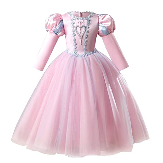 4e926ceab452e Sofia Rapunzel Princess Dress Girls Cosplay Costume Fancy Dress Up Party  Outfits Halloween Christmas Birthday Long Maxi Puffy Dresses Carnival  Evening ...