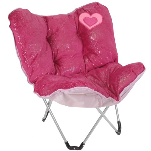 UPC 885998312898, Capelli New York Soft Boa With Foil Dots With Heart Applique Mini Butterfly Chair Pink Combo