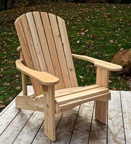 - Classic Cedar Adirondack Chair