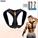 LAVONSTORE Back Posture Corrector for Women and Men | Posture Trainer Back Brace for Clavicle Support & Back Straightener | Shoulder Support for Kyphosis, Scoliosis, Pain Relief & Neck Hump