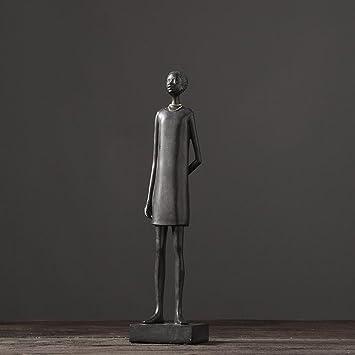 Retro Afrikanische Charakter Harz Skulptur Handwerk Ornamente Home  Wohnzimmer TV Schrank Wein Kabinett Büro Kunst Dekoration