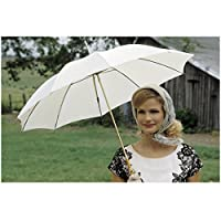 Secondhand Lions 8 Inch x 10 Inch Photo Kyra Sedgwick Holding White Umbrella kn