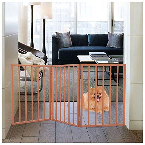 Three Panel Solid Wood - 3 Panel Pet Dog 24