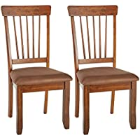 Ashley Furniture Signature Design - Berringer Dining Side...