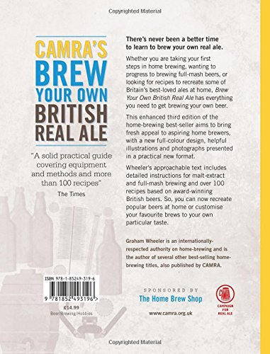 Camraus brew your own british real ale over recipes to try for Code postal ales