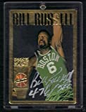 1995 Action Packed Bill Russell Signed Autograph Card