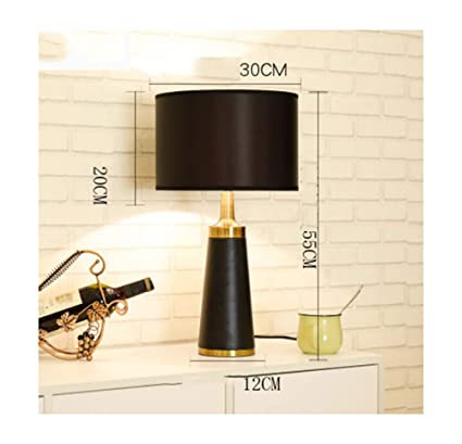 Amazon.com: PPWAN Table Lamp Light Luxury Table Lamp Post Modern ...
