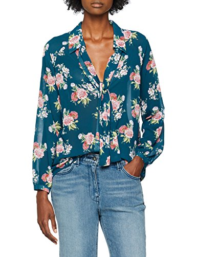 Arina Multicolore Jo blue Jeans V9442 Blusa Donna Liu Flowers qwvgFxng