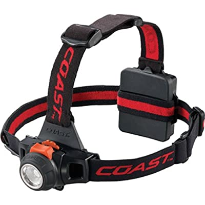 COAST PRODUCTS 19722 Hl27 Led Headlamp with Pure Beam Focusing, Black