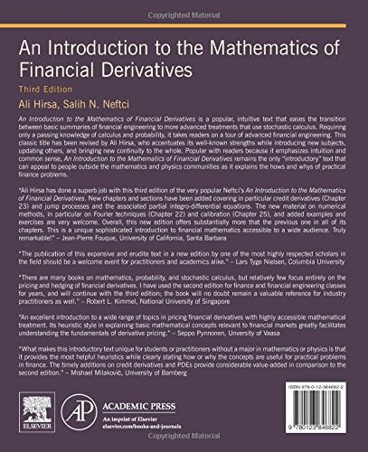 An Introduction to the Mathematics of Financial Derivatives, Third Edition by imusti