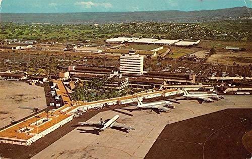 (Honolulu Hawaii International Airport John Rodgers Terminal PC J927741)
