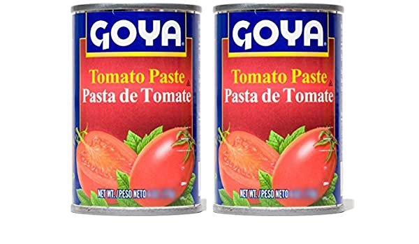 Amazon.com : Goya Tomato Paste 18oz | Pasta de Tomate 510g (PACK OF 02) : Grocery & Gourmet Food