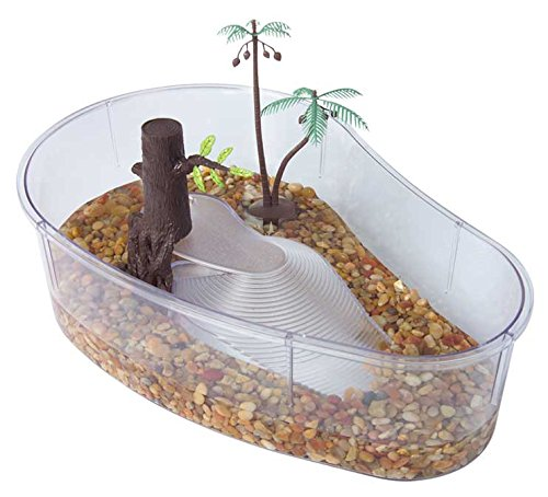 Tom Turtle-Hermit Crab Habitat Mangrove Swamp 16-1/2 x 10 1/2 x 4-1/2 KollerCraft TM1215