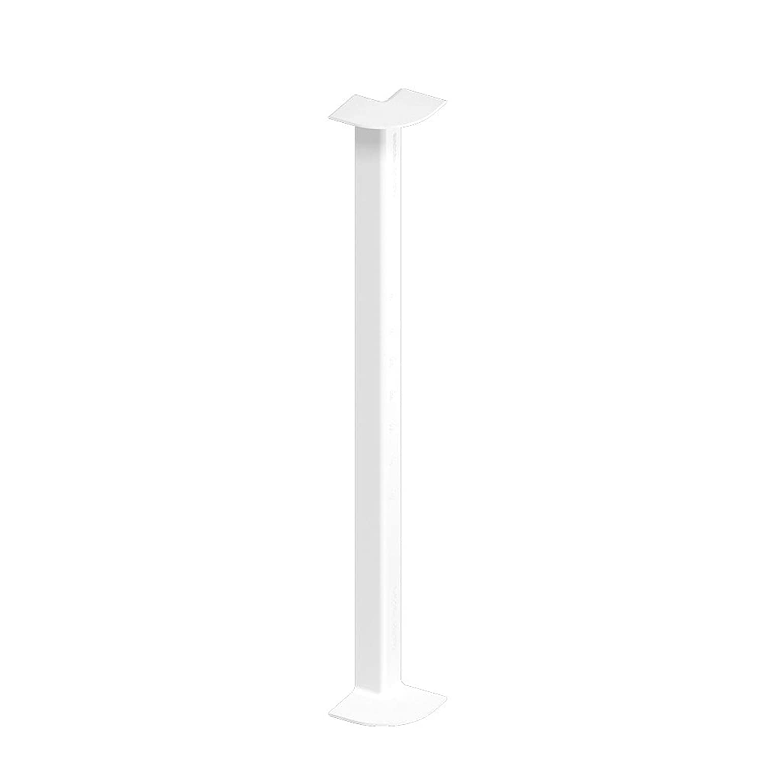 White Fascia Board 90° Internal Corner Trim for Flat PVC-u Plastic Roof Fascia Eurocell
