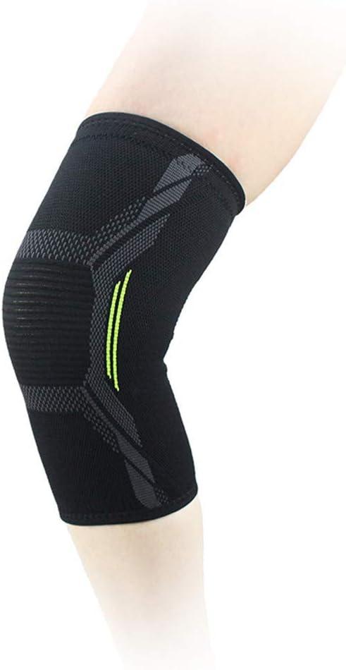 BCDshop Men Women Compression Knee Sleeve Support Running Basketball Lift Knee Pads Knee Brace Navy, S