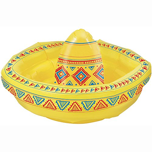 Inflatable Sombrero - Cooler Fiesta