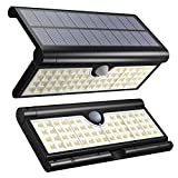 Cheap Vmanoo Solar Lights 58 LED Foldable Wireless Wall Light Outdoor Security Lighting Super Bright Camping Lights with Motion Sensor Detector for Garden, Fence, Deck, Patio, Yard, Camping, Driveway 2Pack