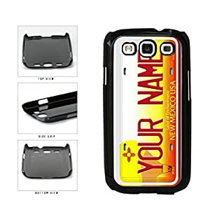 Personalized Custom New Mexico License Plate Plastic Phone Case Back Cover Samsung Galaxy S3 I9300