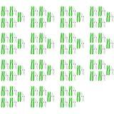 15 x Quantity of Hubsan X4 H107D Green White 55mm Propellers Blades Props 5x Propeller Blade Prop Set 20pcs Drone Parts Drones