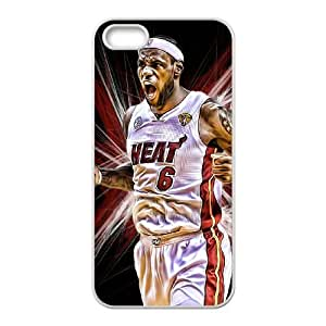 LGLLP Lebron James Phone case For iPhone 5,5S [Pattern-4]