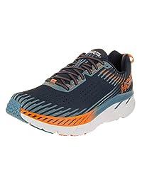 Hoka OneOne Men's Clifton 5 Black Iris/Storm Blue Running Shoe 12 Men US