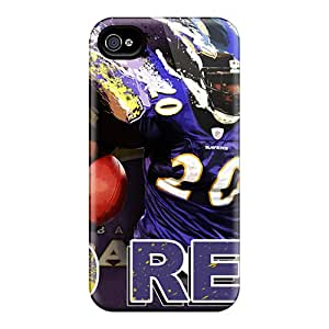 JCarrd Design High Quality Baltimore Ravens Cover Case With Excellent Style For Iphone 4/4s