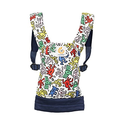 Ergobaby Toy Doll Carrier Limited Edition Keith Haring, Color Pop