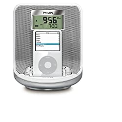 Philips DC310 Alarm Clock Radio iPod Docking Play Charge