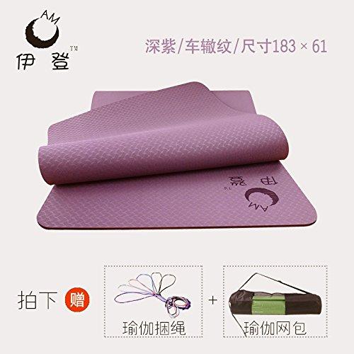 YOOMAT Esterilla de Yoga TPE Body-Wide Gruesas esteras ...
