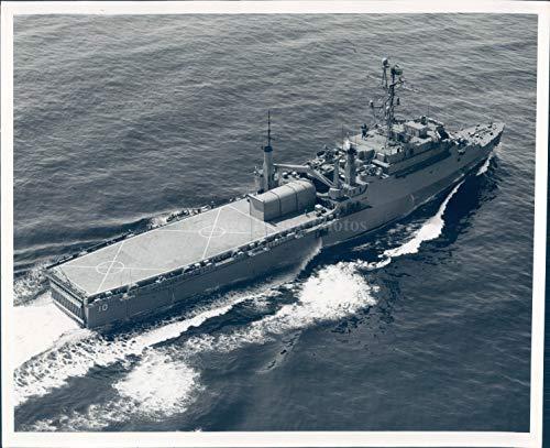 1969 Photo US Navy Amphibious Warfare Ships Military Juneau Assault Vintage 8x10 ()