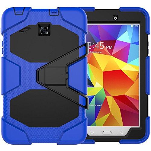 Super Slim Cover for Samsung Galaxy Tab A 8-Inch Tablet (Black) - 8