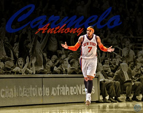 Carmelo Anthony Poster family silk wall print 32 inch x 24 inch / 17 inch x 13 inch