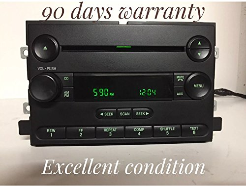 2004 2005 2006 2007 Ford Mercury F-150 Freestyle Mustang Montego OEM AM FM CD Player Receiver