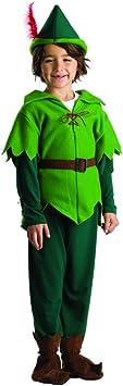 Dress Up America Disfraz de Peter Pan para niños: Amazon.es ...