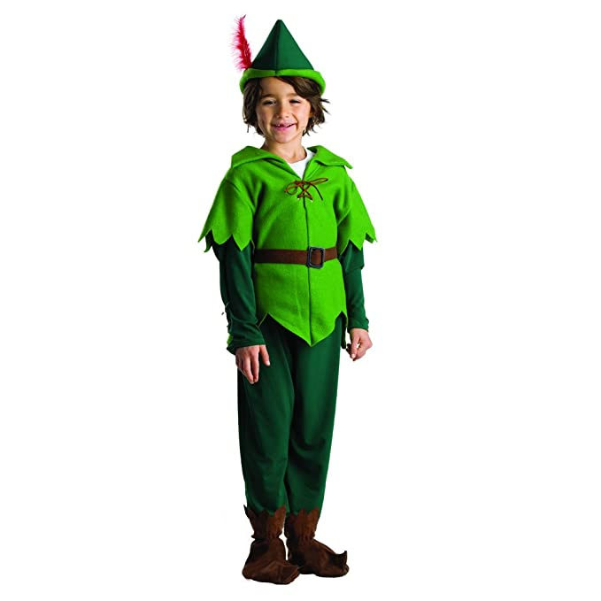 Amazon.com: Disfraz de Peter Pan para Kids by Dress Up ...