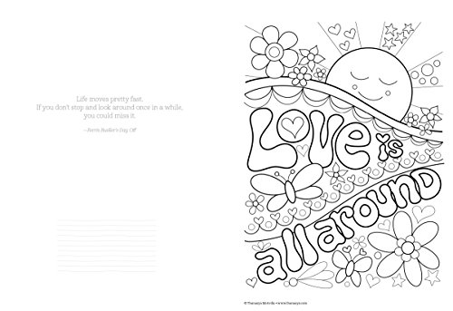 dont worry be happy coloring book treasury color your way to a