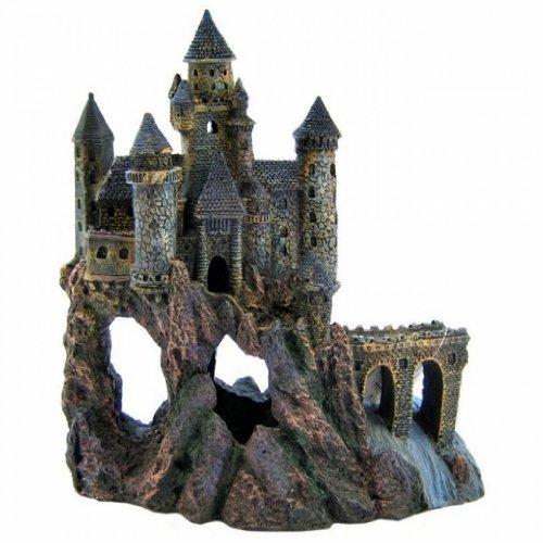 Penn Plax Dark Castle Aquarium Decoratio - Penn Plax Magical Castle Shopping Results