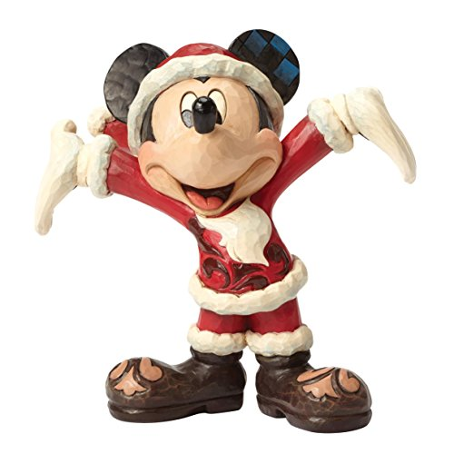 (Disney Showcase Santa Mickey Figurine)