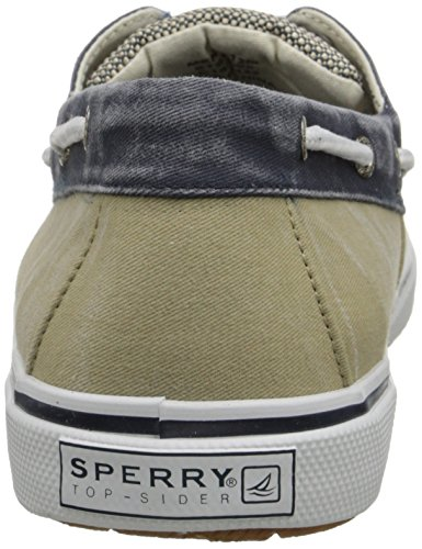 Sperry Top-Sider Halyard 2-Eye,Ecru,10 M US Chino/Navy