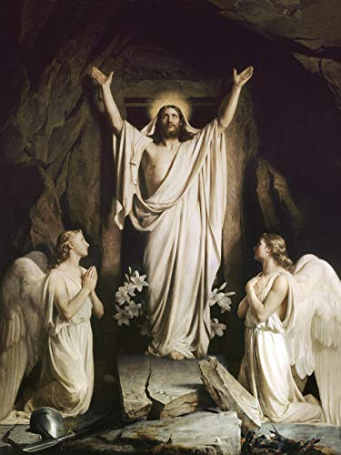 Jesus Christ Has Risen 8 x 10 Glossy Photo Picture Image #1