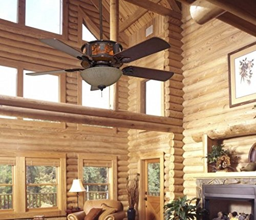 rustic lodge ceiling fans - 3