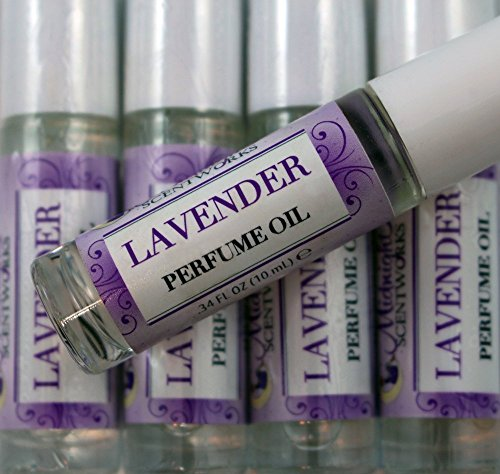 Lavender Perfume Oil, Roll-on by Midnight Scentworks